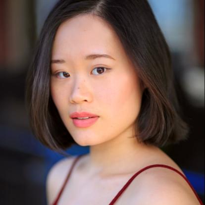 Courtney Crimsen played by Michele Selene Ang imagve via: IMDB.com